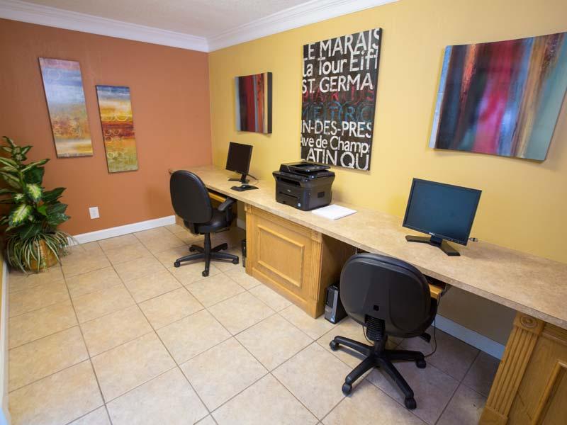 Resident Business Center