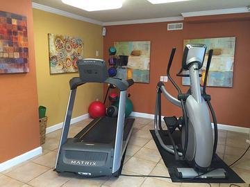 Fitness Center - Berkshire Manor - Carrboro, NC