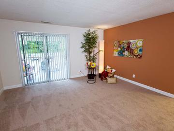 Living Room - Berkshire Manor - Carrboro, NC