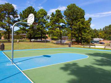 Basketball Court - Collins Crossing - Carrboro, NC