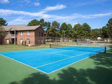 Tennis Court - Collins Crossing - Carrboro, NC