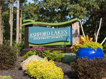 Front Sign - Ashford Lakes - Hillsborough, NC