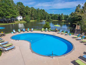 Lakeside Swimming Pool - Ashford Lakes - Hillsborough, NC