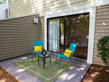 Private Patio/Balcony - Ashford Lakes - Hillsborough, NC