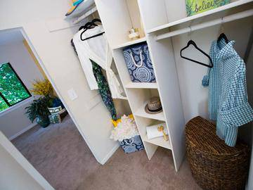 Walk-In Closet - Ashford Lakes - Hillsborough, NC