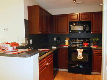 Kitchens with Cherry Cabinets - Terraces of Western Cranston - Cranston, RI