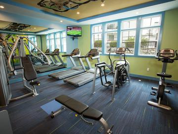 Fitness Center - Terraces of Western Cranston - Cranston, RI