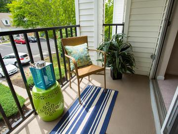 Private Patio/Balcony - Terraces of Western Cranston - Cranston, RI