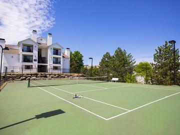 Tennis Courts - Terraces of Western Cranston - Cranston, RI