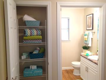 Linen Closets - Avalon Shores - Bluffton, SC