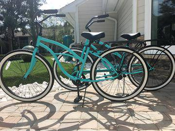 Complimentary Bicycles - Avalon Shores - Bluffton, SC
