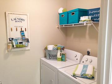 Laundry Room - Avalon Shores - Bluffton, SC