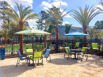 Poolside Tables - Avalon Shores - Bluffton, SC
