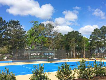 Tennis Court - Avalon Shores - Bluffton, SC