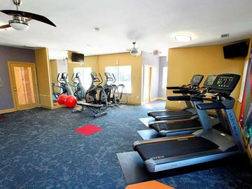 Fitness Center - The Club at Carolina Stadium - Columbia, SC