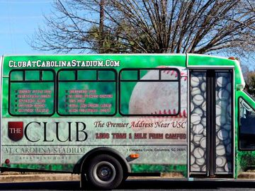 Shuttle Bus for USC - The Club at Carolina Stadium - Columbia, SC
