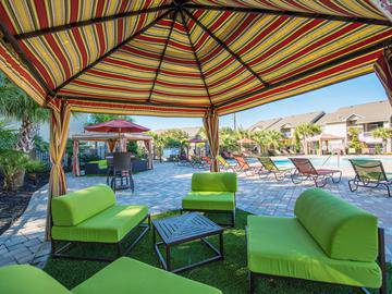 Poolside Cabanas - The Club at Carolina Stadium - Columbia, SC