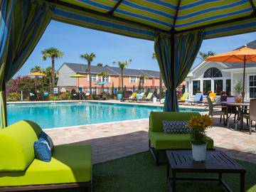 Poolside Cabanas - The Legends at Lake Murray - Columbia, SC