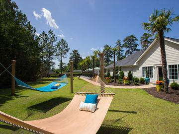 Hammock Garden with Cornhole - The Legends at Lake Murray - Columbia, SC