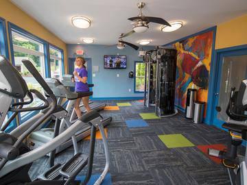 Fitness Center - River Bluff of Lexington - Lexington, SC