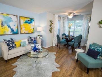 Living & Dining Room - River Bluff of Lexington - Lexington, SC