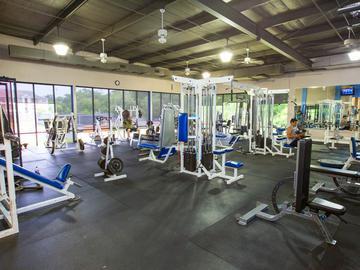 Aerofit Workout Room - The Element at University Park - Bryan, TX