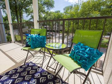 Private Patio/Balcony - The Element at University Park - Bryan, TX