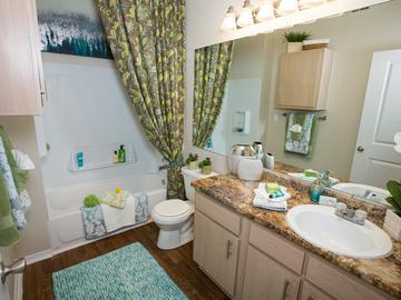 Bathroom - The Element at University Park - Bryan, TX