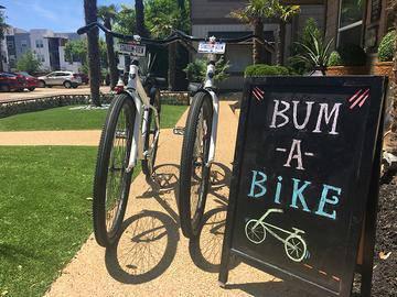 Bum a Bike Program - Stadium View - College Station, TX